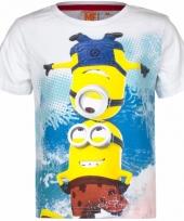 Minions kinder t-shirt wit trend