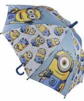 Minions paraplu blauw trend