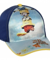 Minions pet blauw voor kinderen trend