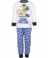 Minions pyjama surf voor jongens trend