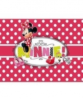 Minnie mouse 3d placemat stippen trend