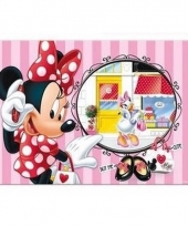 Minnie mouse 3d placemat strepen trend