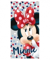 Minnie mouse badlaken met stippen trend