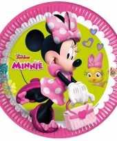 Minnie mouse bordjes 8 stuks trend