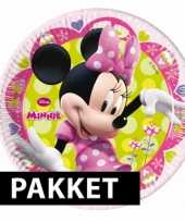 Minnie mouse kinderfeest set trend