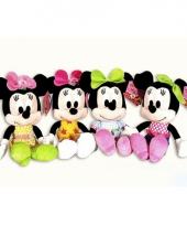 Minnie mouse knuffel 3 25 cm trend