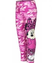 Minnie mouse legging roze voor meisjes trend