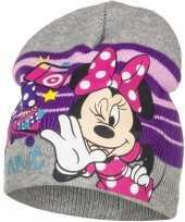 Minnie mouse muts grijs voor meisjes trend