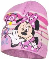 Minnie mouse muts roze voor meisjes trend