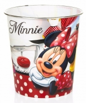 Minnie mouse opberg mand wit rood trend