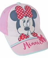 Minnie mouse petje lichtroze trend