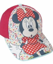 Minnie mouse petje rood trend