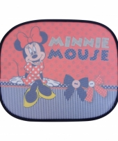 Minnie mouse rood auto zonnebeschermers 2 st trend