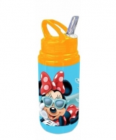 Minnie mouse schoolbeker blauw trend
