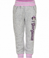 Minnie mouse sportbroek grijs trend