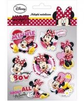 Minnie mouse stickers 7 stuks type 2 trend