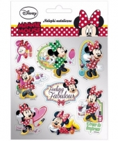 Minnie mouse stickers 8 stuks type 3 trend