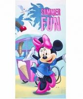 Minnie mouse summer fun badlaken 70 x 140 cm trend