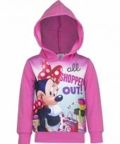Minnie mouse sweater roze voor meisjes trend