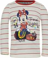 Minnie mouse t-shirt wit rood voor meisjes trend