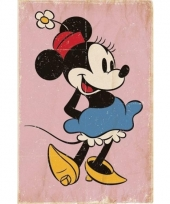 Minnie mouse vintage look poster 61 x 91 cm trend