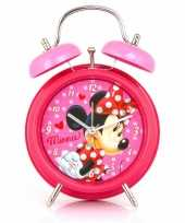 Minnie mouse wekker roze trend