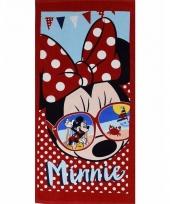 Minnie mouse zonnebril badlaken 70 x 140 cm trend