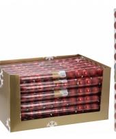 Mix kerstballen pakket rood glans en glitter trend