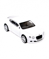Modelauto bentley continental gt die cast wit trend