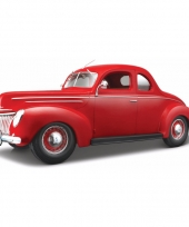 Modelauto ford deluxe coupe 1939 1 18 trend
