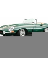 Modelauto jaguar e type 1 18 trend