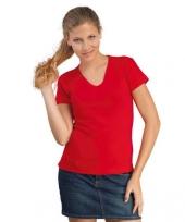 Modieuze dames shirts v hals trend
