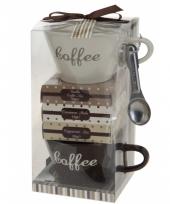 Moederdag kado koffie setje trend
