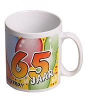 Mok gefeliciteerd 65 jaar trend