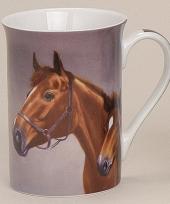 Mok met mooie paarden model 1 trend