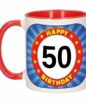 Mok verjaardag 50 jaar 300 ml trend