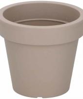 Mokka bruine bloempot 39cm trend