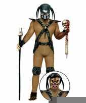 Monster kostuum met accessoires trend