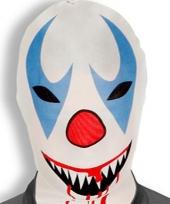 Morphsuit killer clown masker trend