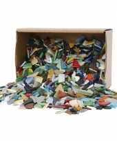 Mozaiek glas kleuren 8 20mm trend