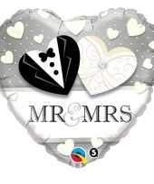 Mr en mrs folie ballon trend