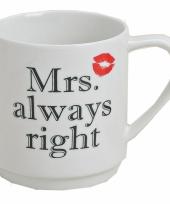 Mrs always right beker trend