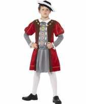 Musketier outfit voor jongens trend