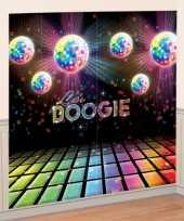 Muurdecoratie jaren 70 disco trend