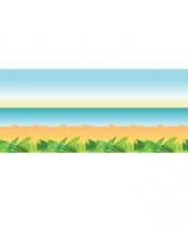 Muurdecoratie strand 15 m trend