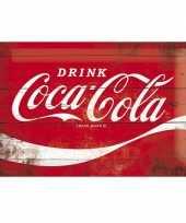 Muurplaatje 20 x 30 coca cola trend
