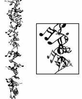 Muzikale hangdecoratie 63 cm trend