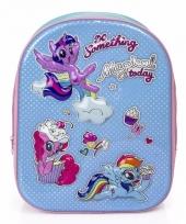 My little pony 3d rugtas blauw voor meisjes trend