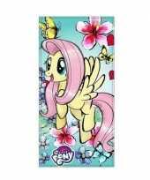 My little pony badlaken strandlaken fluttershy 70 x 140 cm trend