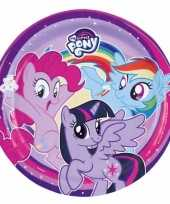 My little pony bordjes 8 stuks trend